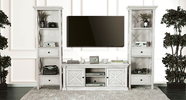 Entertainment Center and TV Stand